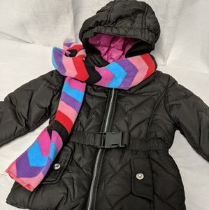Rothschild black puffer winter jacket 3T